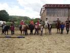 11 fleissige Reiter