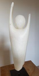 Angel Engel Speckstein Skulptur