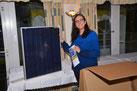 Solaranlage für die Tombola des Camperstammtisch Kevelaer zur Solar Stromerzeugung im Wohnmobil, Camper oder Van