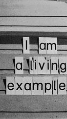 Sara Lanner A Living Example Bild