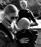 Willkommen auf unserem Baby-led Weaning Blog. Das sind wir - meine Söhne Maxi, Julius und ich