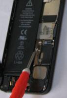 iphone5バッテリーコネクトカバー