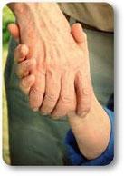 Sterbebegleitung - Lebensbegleitung Hände