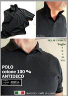 POLO ANTIMACCHIA 100% COTONE