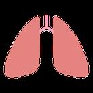 肺癌のイメージイラスト