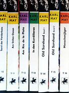 oben: Die Taschenbuchreihe von Ueberreuter. Die meisten anderen Taschbuchausgaben sind nur noch antiquarisch erhältlich..
