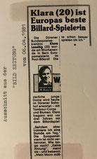 Bild-Zeitung 06.04.1981