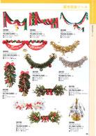 クリスマスディスプレイのハンガー、ペナント、タイトル、ガーランド、ドロップ