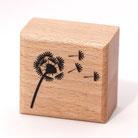 Stempel,Pusteblume,Gummistempel,Holzstempel, design,Holzstempel,Blume