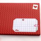 Umschlag, Briefumschlag, Kuhsocke