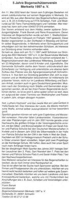 Artikel - 5 Jahre BSV Merkwitz