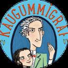 """Aussschnitt aus dem Cover von Kirsten Reinhardts Kinderbuch """"Der Kaugummigraf"""""""