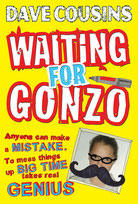 book jacket for Waiting for Gonzo by Dave Cousins