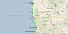 Strecke am 26. Tag: - 286 km (Microsoft Streets & Trips)