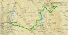 Strecke am 35. Tag: - 552 km (Microsoft Streets & Trips)