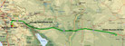Strecke am 13. Tag: - 423 km (Microsoft Streets & Trips)