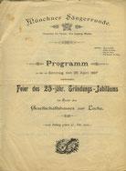 1897  Gesangsverein begeht sein 25-jähriges Gründungsjubiläum