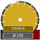 slijpschijf omnia diameter 230 universeel voor haakse slijper