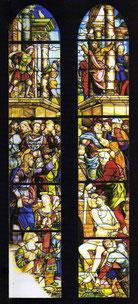 il capolavoro: la Resurrezione di Lazzaro, (1519)