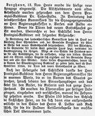 Hünfelder Kreisblatt vom 19. November 1910