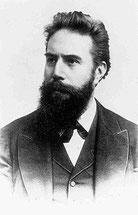 Wilhelm Conrad Rontgen.