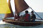 Paper8 faltbares Segelboot; P8 Segelboot; faltbares Segelboot; Segeljolle