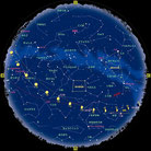 11月の星座表