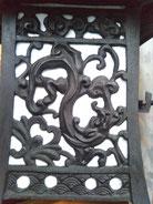 灯籠の龍の細工