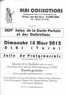 ALBI 2012     Carton d'invitation