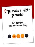 Mein E-Book: Organisation leicht gemacht