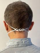 Zertifizierte FFP2 Schutzmaske, Weiß, mit Kopfbandeinsteller - ab 0,60 €