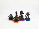 GW: Taktischer Trupp Dark Angels, bemalt auf Stufe 2