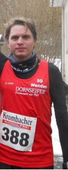Platz 4 in Freiburg: Fabian Jenne (hier beim Ausdauer-Winter Cup in Wehbach 2017)