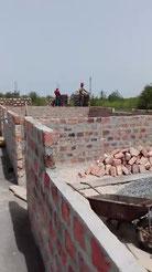 Baufortschritte beim Schulhausbau