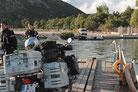 Pontonfähre vor Butrint