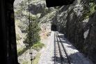 Zahnradbahn Cremallera im Vall de Núria