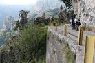 Abenteuerlicher alter Kriegspfad Passo della Spina