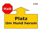 Hund - Platz