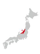 日本地図 新潟
