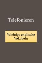 Telefongespräche auf Englisch.
