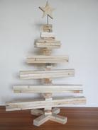 --JäTTE--Grosser Weihnachtsbaum aus Palettenholz