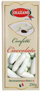 Confettini al cioccolato e cannella