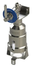 Liquid sampling - Bypass liquid sampler - Liquid Sampler Bypass configuration - Mechatest Bottle Sampler type MBS-A3 - closed sampling Hydrocarbon liquids - Dopak DPM