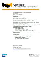 SAP Zertifikat