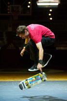 Audi Dome, München, Skateboard Show, Guenter Mokulys