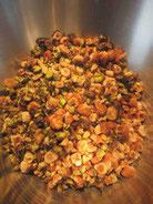 recette des noisettes ou amandes grillées caramélisées