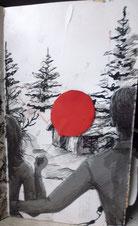 Bild Paar vor Hütte