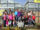 Besuch Gärtnerei Sattler und Garten
