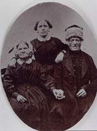 Carl David Blümel mit Frau und Tochter