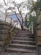 Straßentreppe